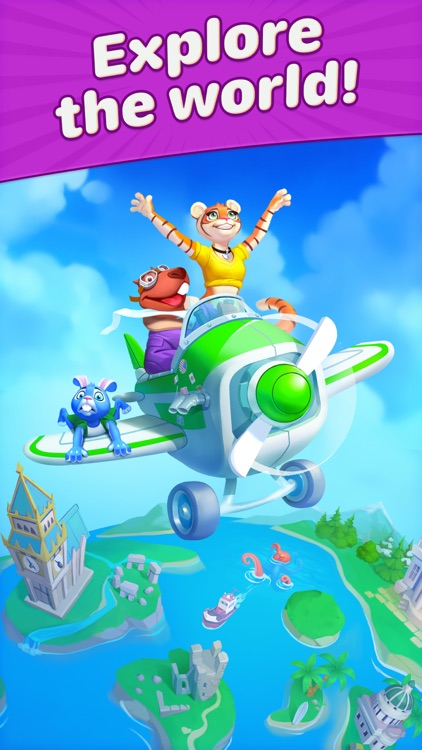 Travel Blast: Puzzle Adventure screenshot-7