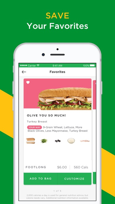 download SUBWAY® apps 3