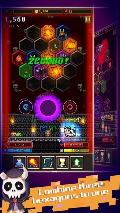 Hexagon Dungeon screenshot 2