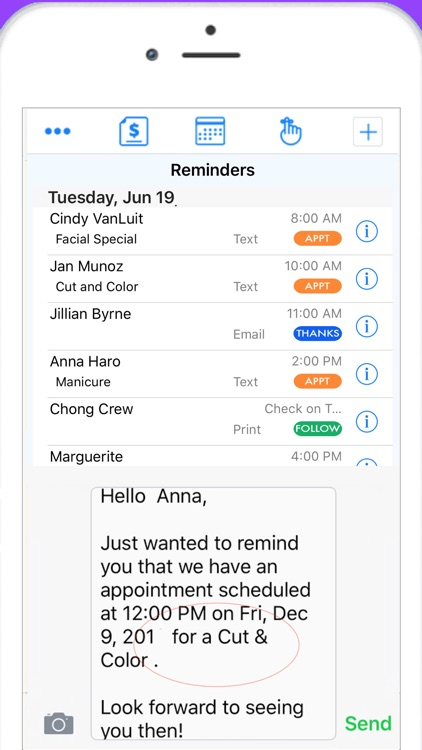 Nail Tech Schedule & Reminder screenshot-3