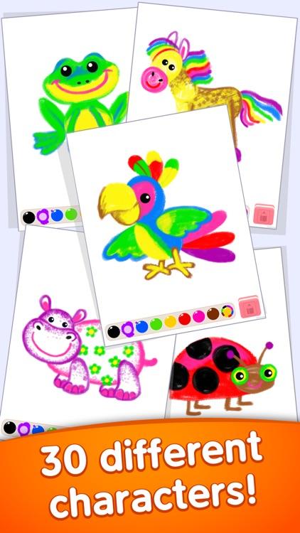 Drawing kids games for toddler screenshot-4