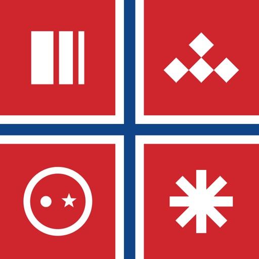 Logo Quiz Norge by Peter Skarheim