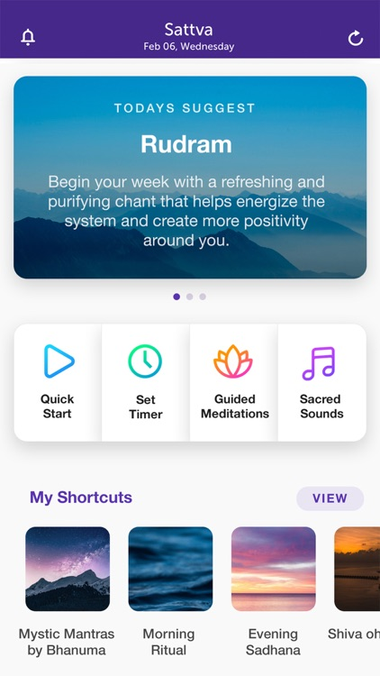 Sattva Meditations & Mantras screenshot-0