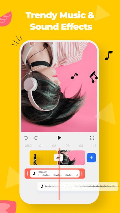 FilmoraGo - Video Editor&Maker Screenshot