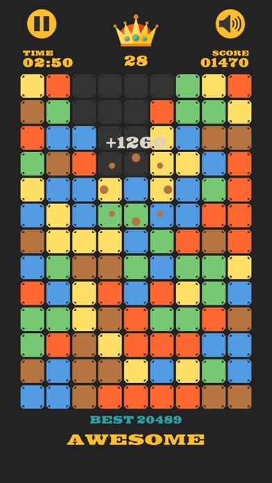 Clear The Blocks, Merge Colors screenshot 5