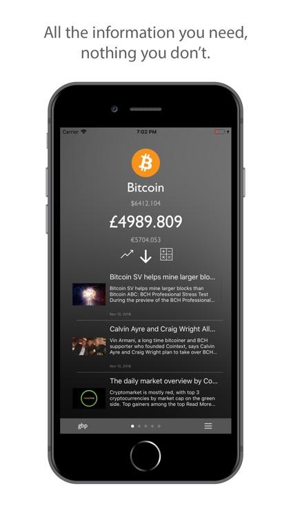 CryptiX - price tracker