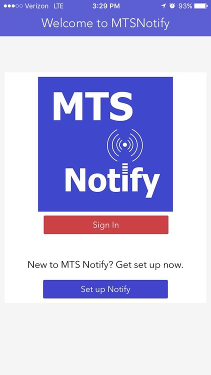 MTS Notify