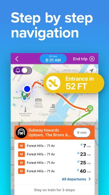 NYC Transit: MTA Subway & Bus screenshot-3