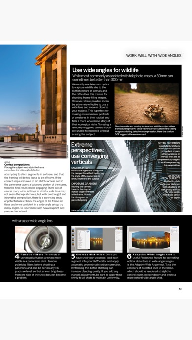 Screenshot for Digital Photographer Monthly in Peru App Store