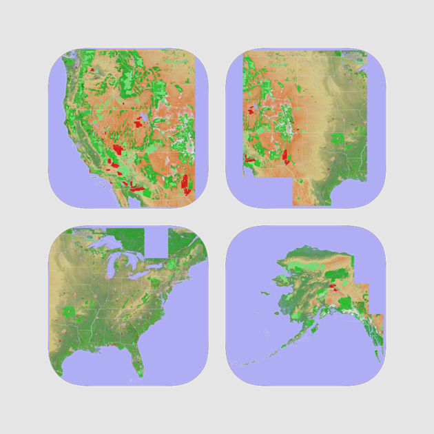 Scenic Map USA on the App Store
