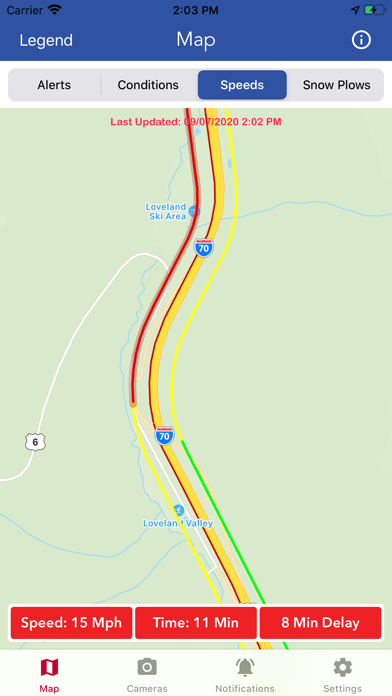 CDOT Colorado Road Conditions screenshot 5
