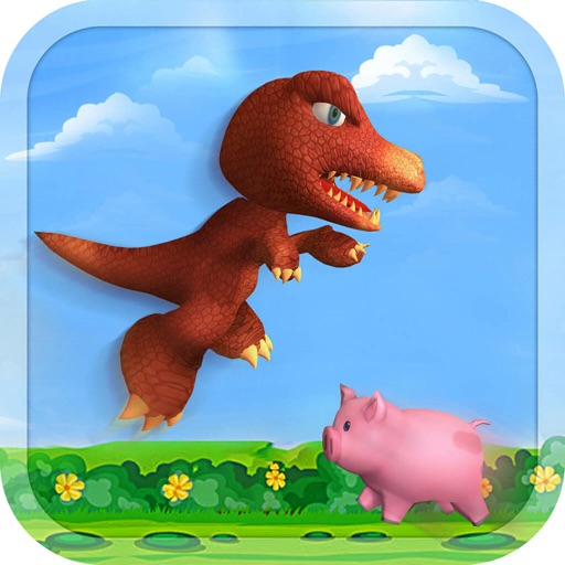 Jumping Dinosaur Survival Game by Hisham Malik