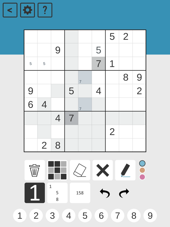 Chess Sudoku screenshot 6