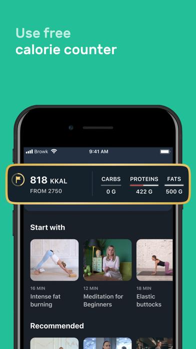 Motify: fitness & home workoutのおすすめ画像6