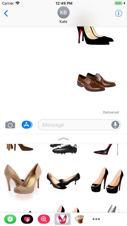 Shoes Set Stickers screenshot-4