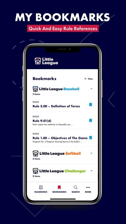 Little League Rulebook screenshot-4