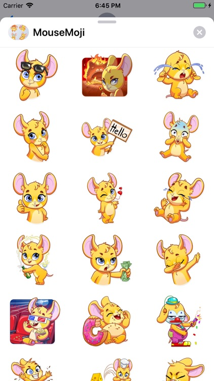 MouseMoji - Stickers Pack