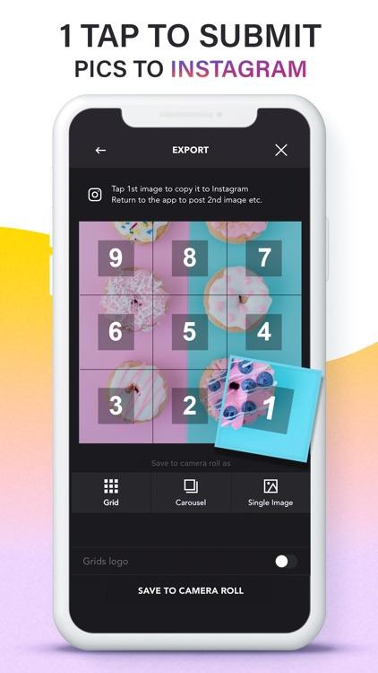 Grids: Giant Square, Templates screenshot-6