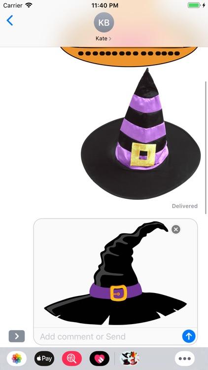 Hats Emoji Stickers screenshot-3