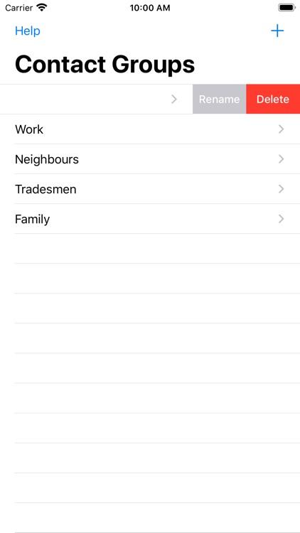 Contact Groups screenshot-4