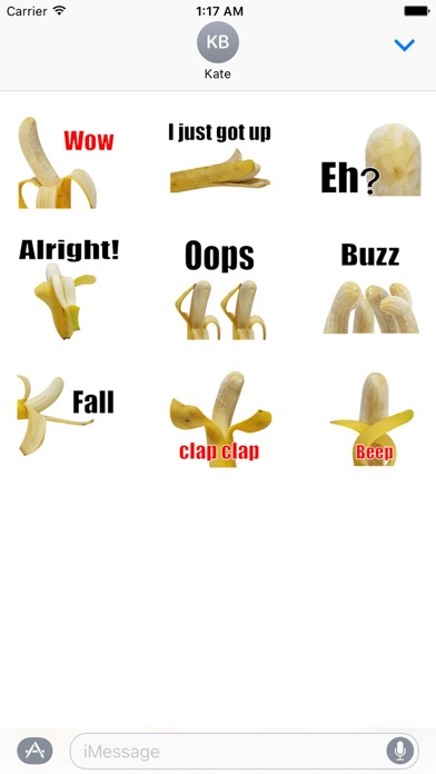 Chat With Animated Banana screenshot 2