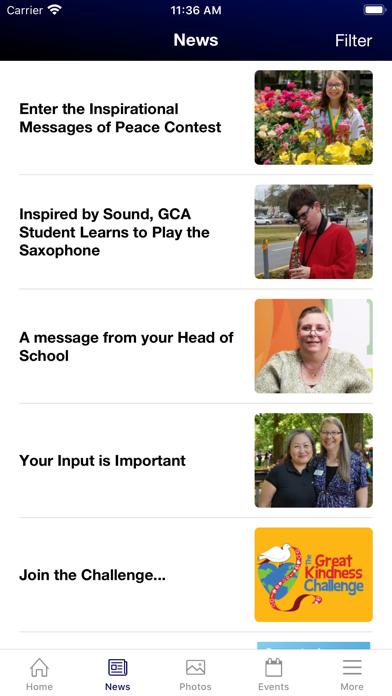 Georgia Cyber Academy App Screenshot