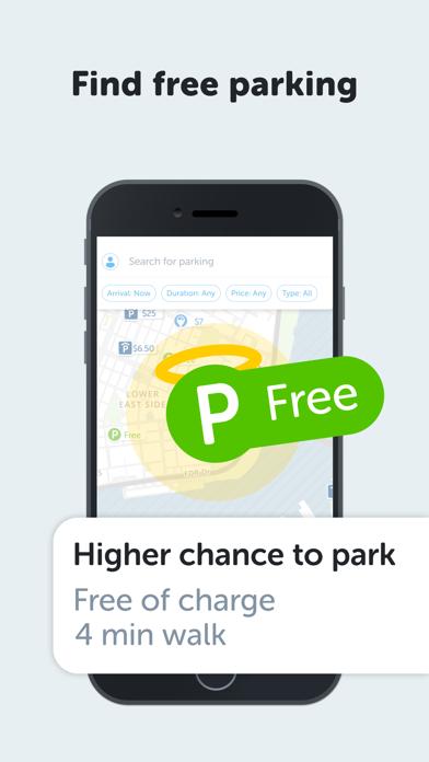 Screenshot #1 pour SpotAngels Parking Map & Deals