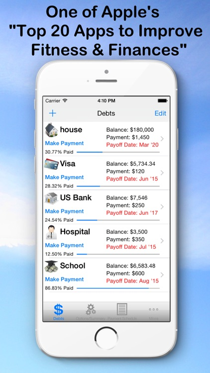 Debt Snowball Pro - Pay Debt screenshot-0