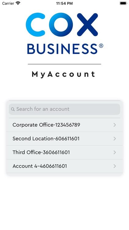 Cox Business MyAccount screenshot-6