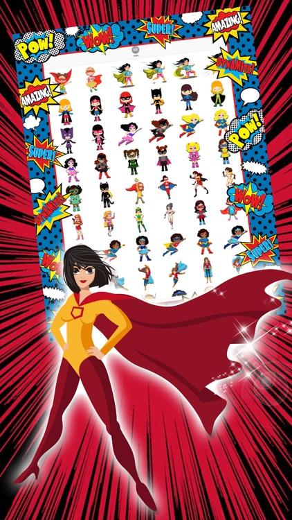 My Comic Hero Girl
