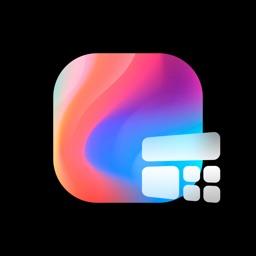 Color Clock Widget-Home Screen