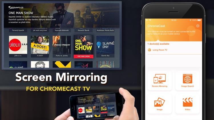 Mirror Streamer for Chromecast