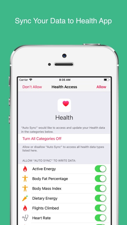 Auto Sync for Fitbit to Health screenshot-1