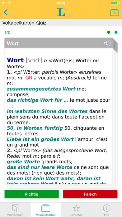 Französisch XL Pro Wörterbuchのおすすめ画像3