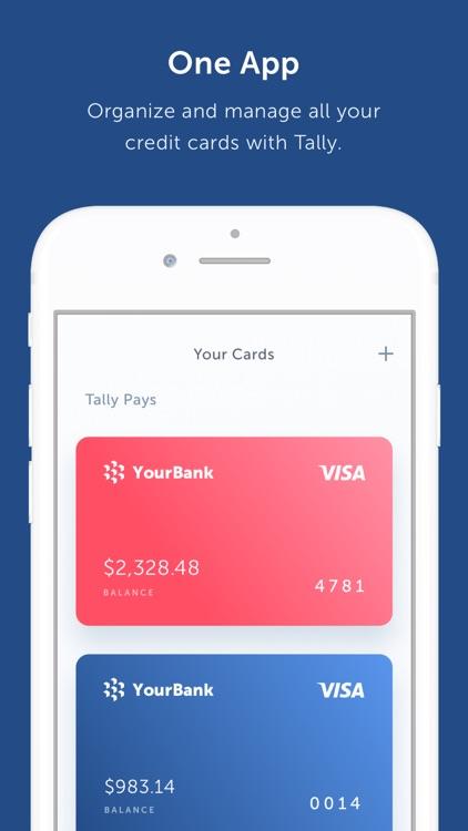 Tally - Credit Card Management screenshot-3