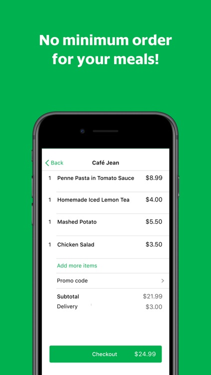 grabfood food delivery app screenshot 3