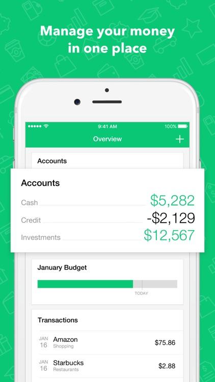Mint:Personal Finance & Money screenshot-0