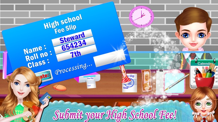 High School Cashier Game screenshot-4