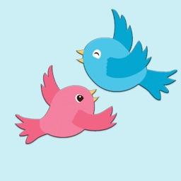 Animals birds stickers & emoji