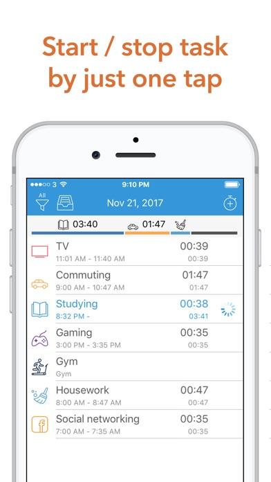 Atracker Pro Time Tracker review screenshots