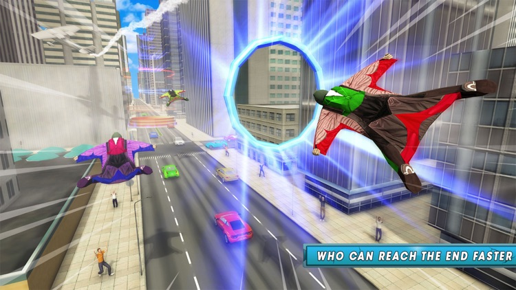 Skyman Stunt Hero 3d screenshot-0