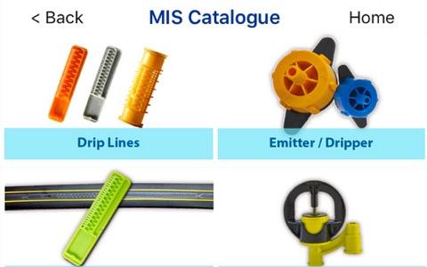Jain MIS Catalogue - náhled