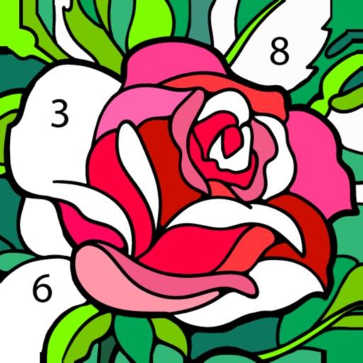 Раскраска по цифрам (номерам)