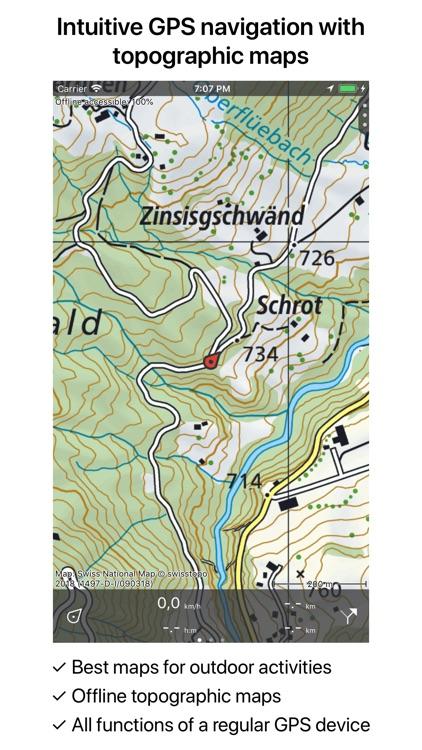 Topo Gps Switzerland By Rdzl