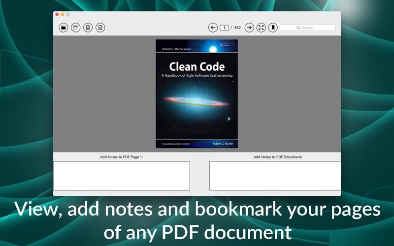 Zapit PDF Reader скриншот программы 1