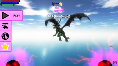 Screenshot from Dragons Online 3D Multiplayer