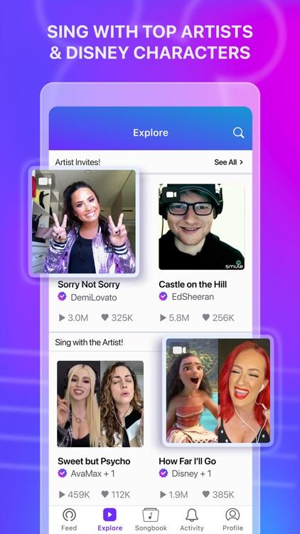 Smule: Karaoke Singing App screenshot-3