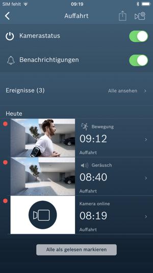 bosch smart camera im app store. Black Bedroom Furniture Sets. Home Design Ideas