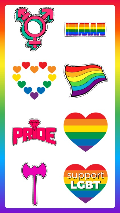 80+ Pride Love Sticker Pack screenshot-6