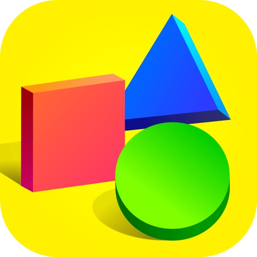 Learn shapes and colors game